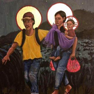 Refugees-La-Sagrada-Familia